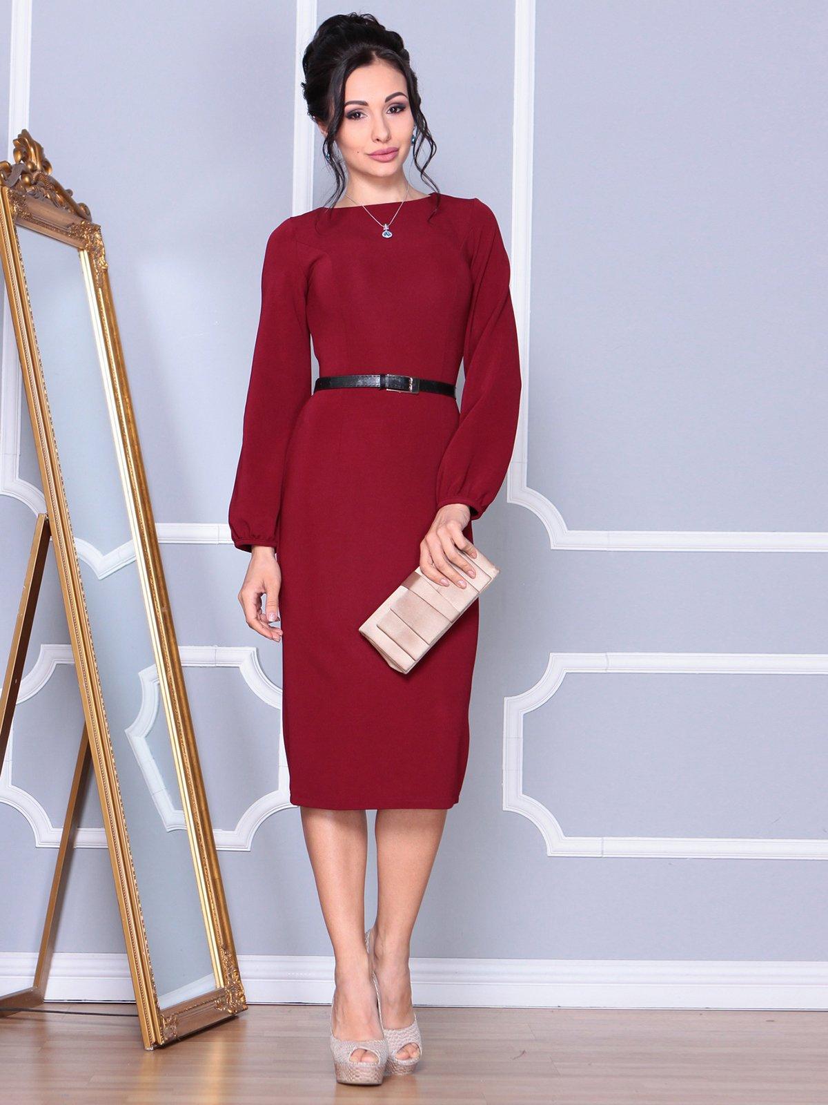Платье сливового цвета   4109549