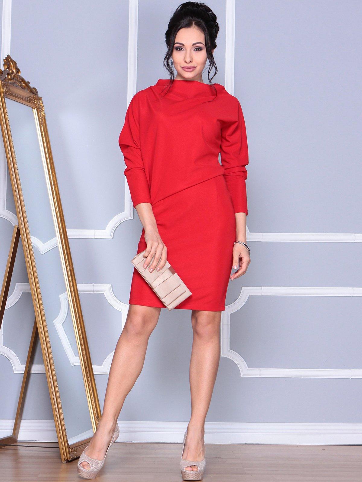 Платье красное | 4109561