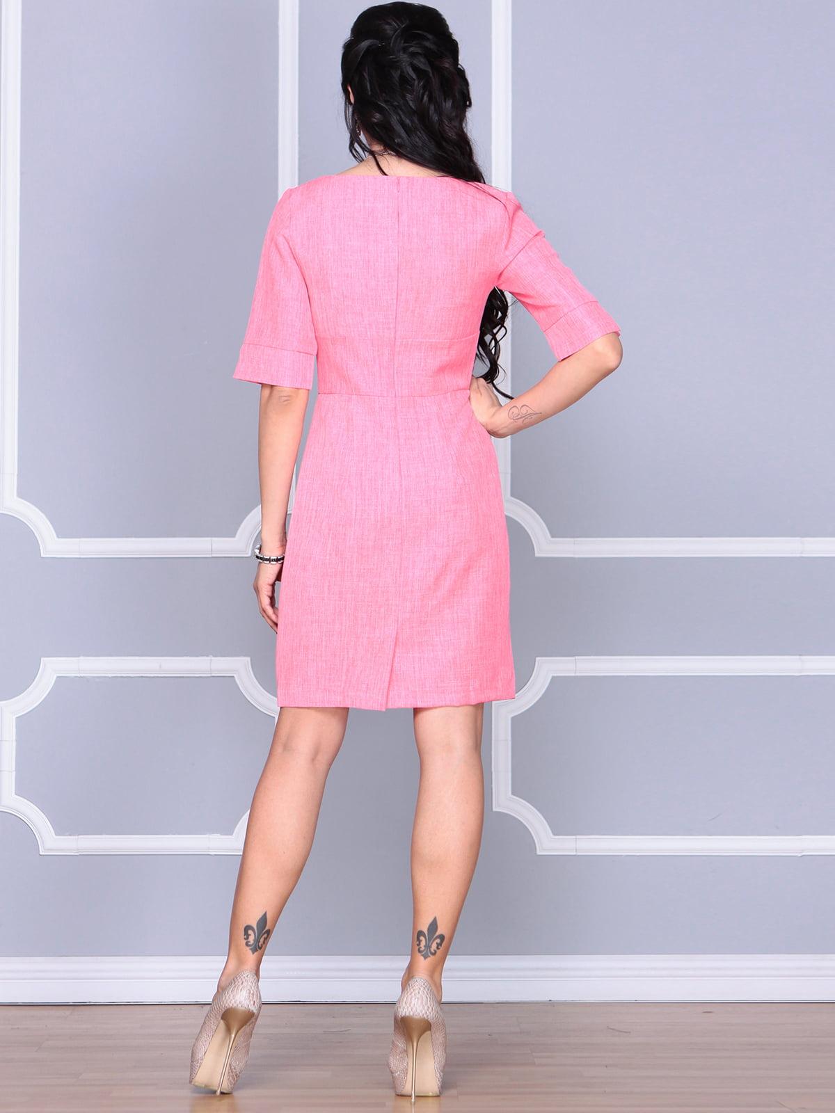 Платье коралловое | 4112907 | фото 2