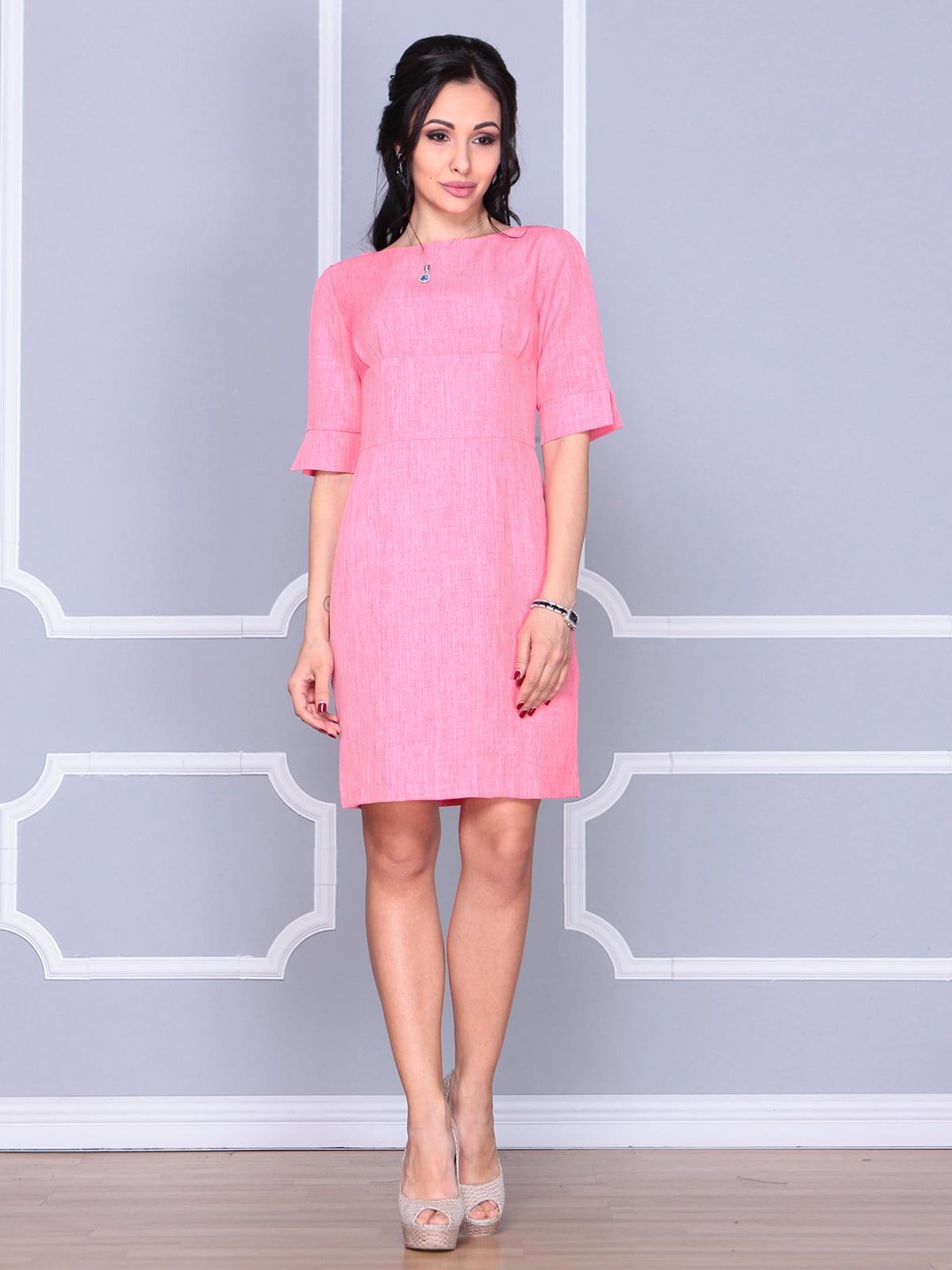 Платье коралловое | 4112907 | фото 5