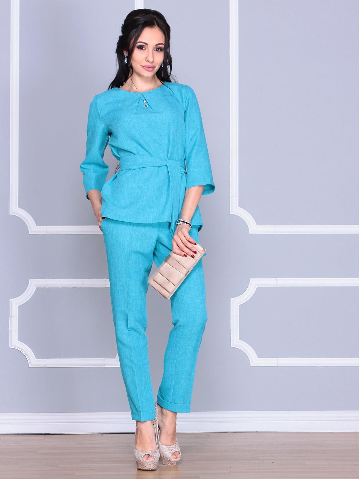 Костюм: блуза и брюки | 4112910