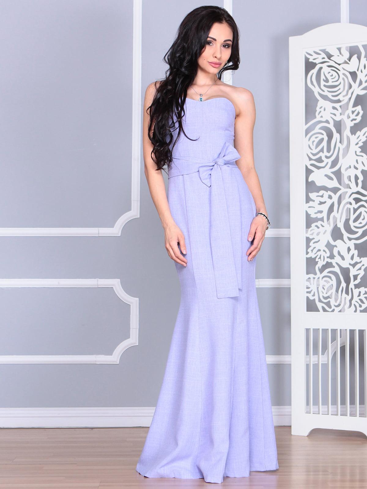 Платье сиреневое | 4112911