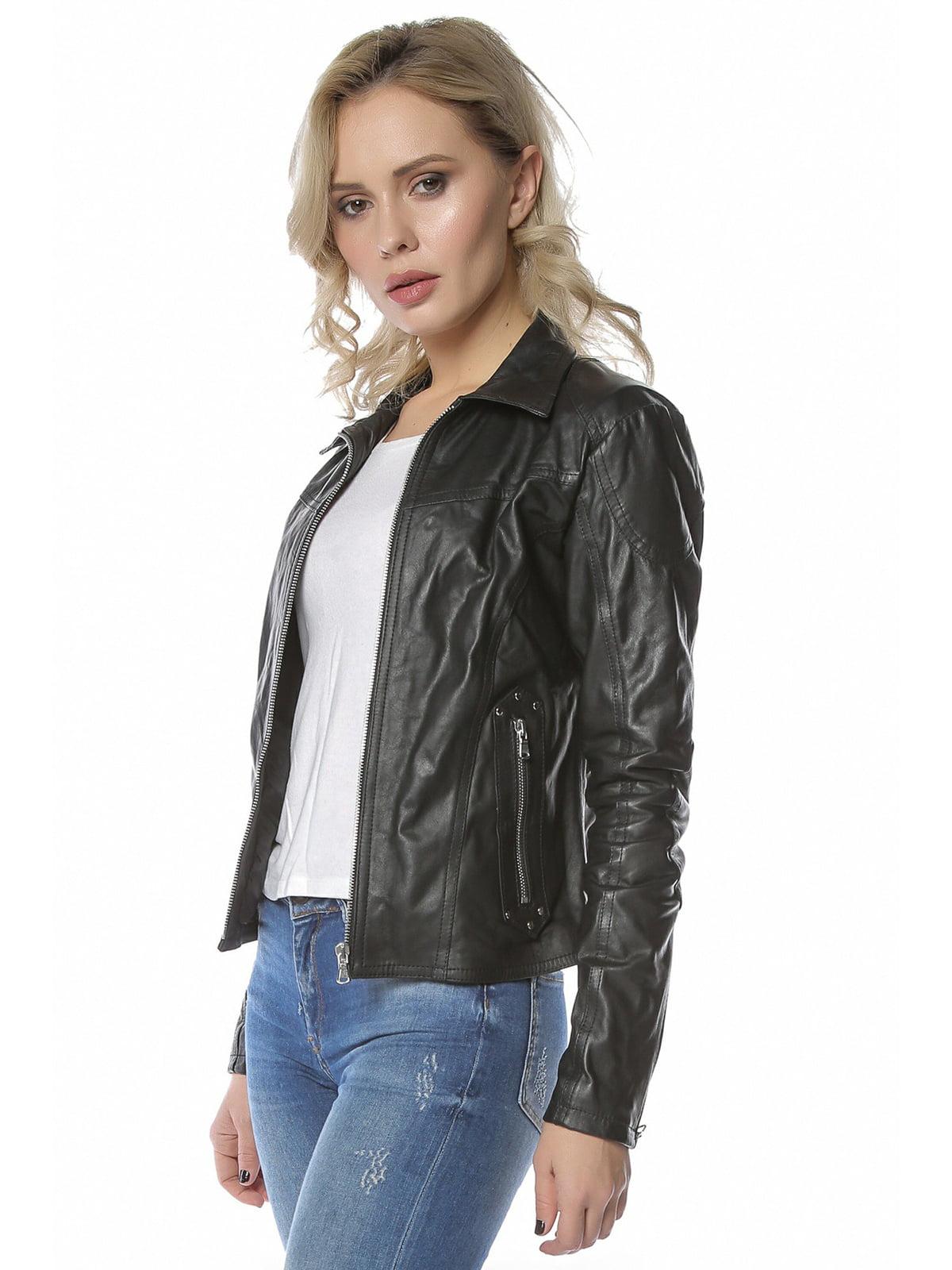Куртка черная   4112638   фото 3