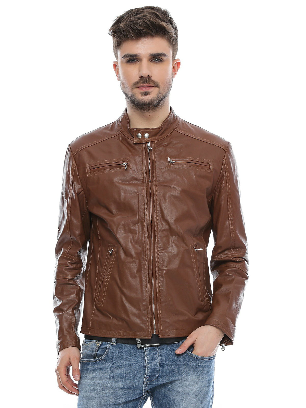 Куртка коньячного кольору | 4112719