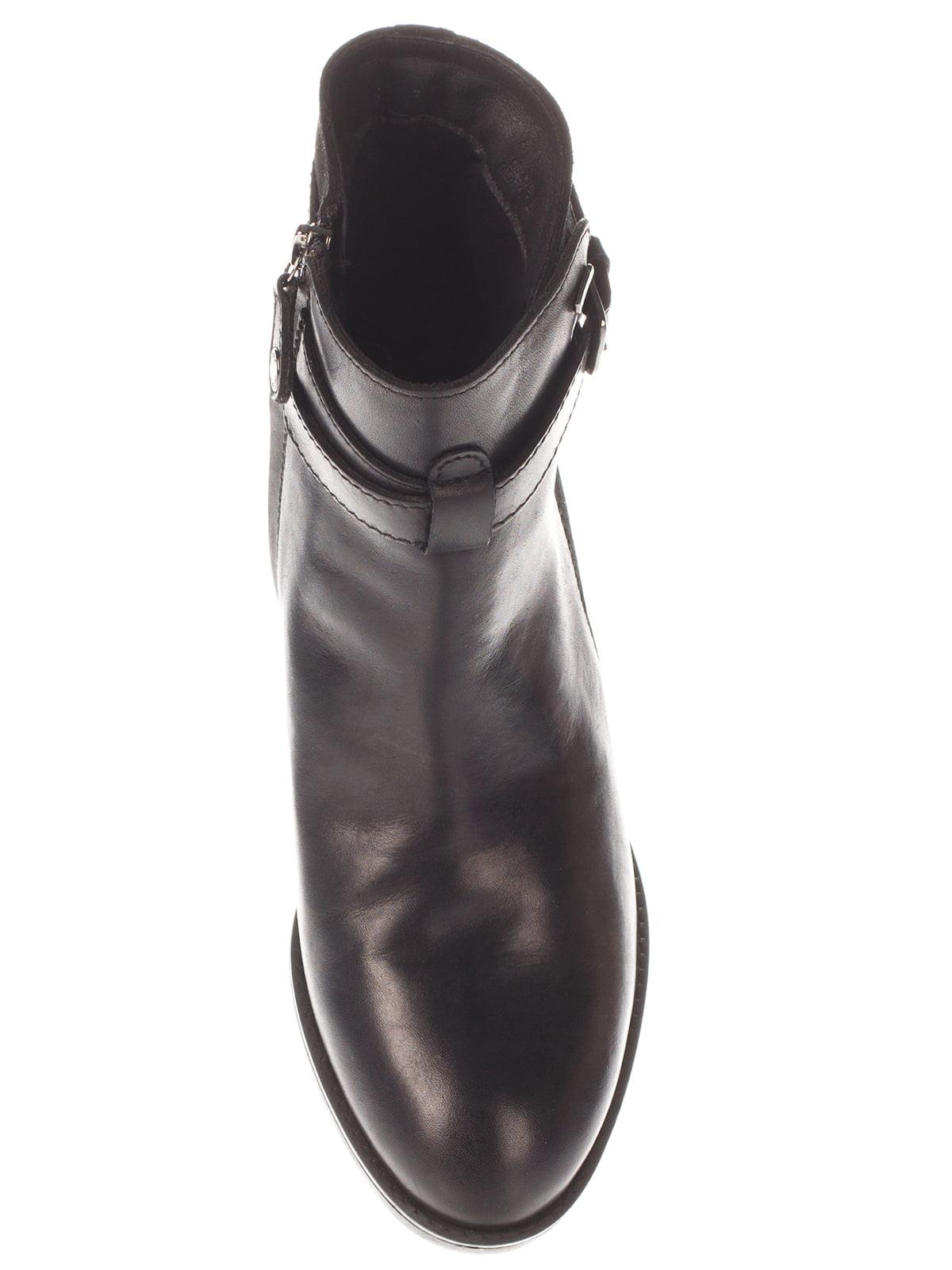 Ботинки черные | 4103931 | фото 5