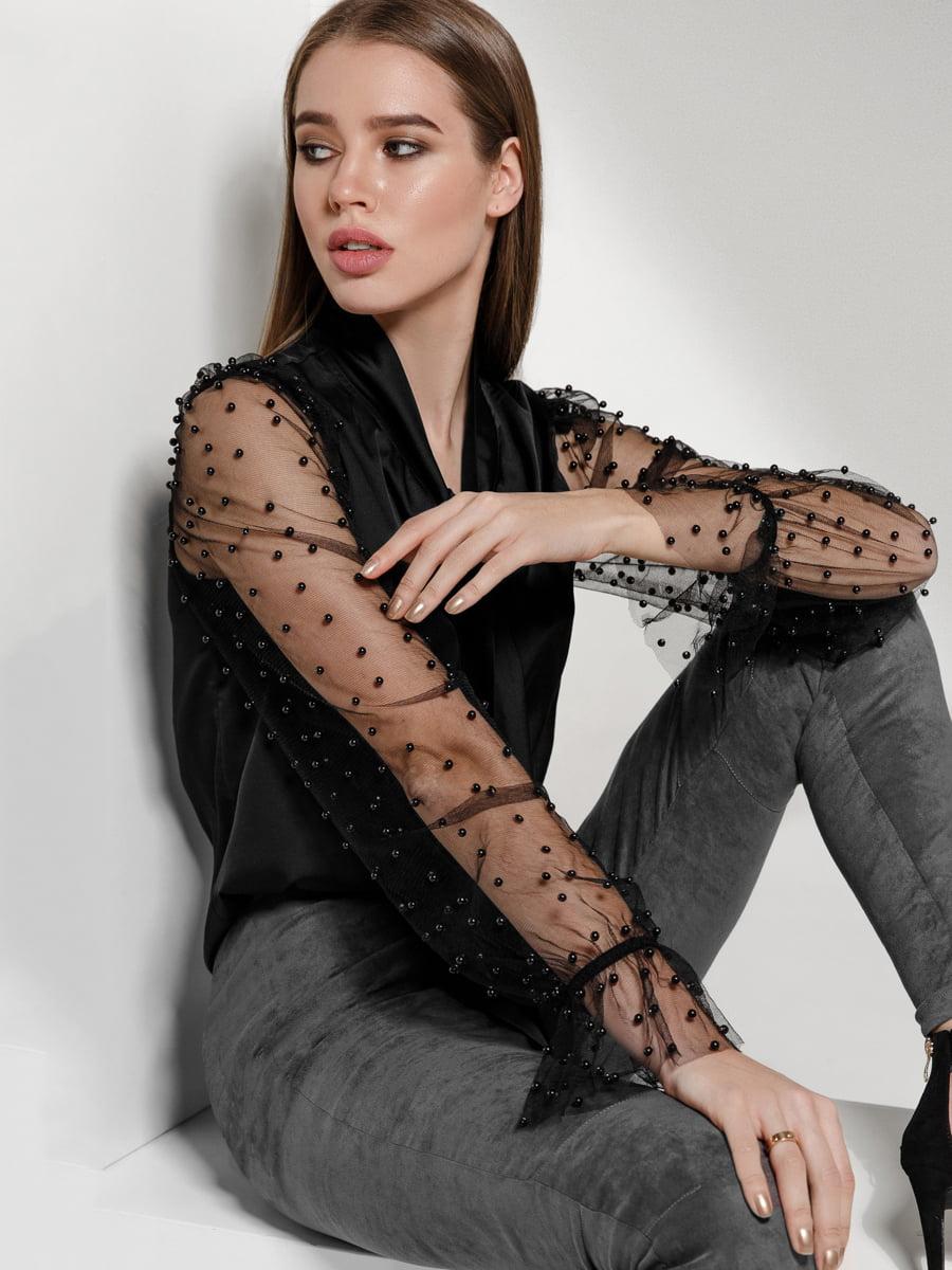 Блуза черная | 4118110