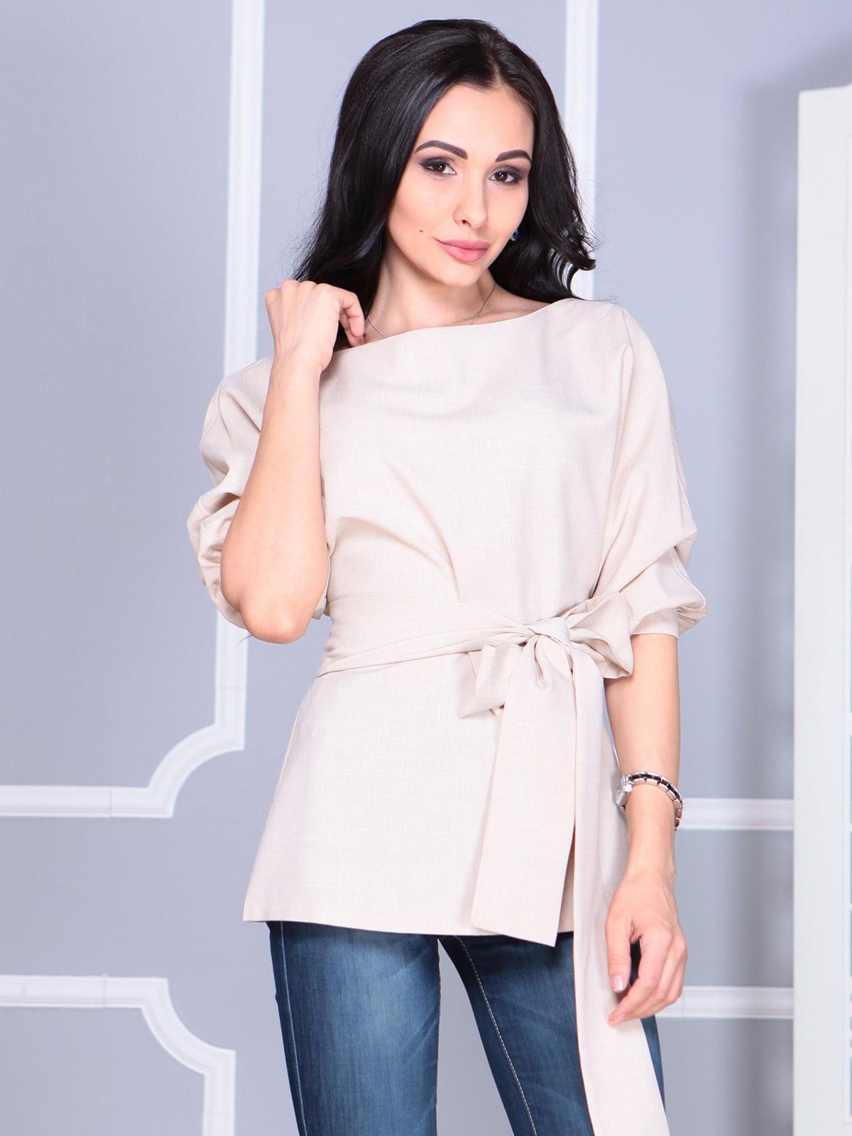 Блуза бежевая | 4119042