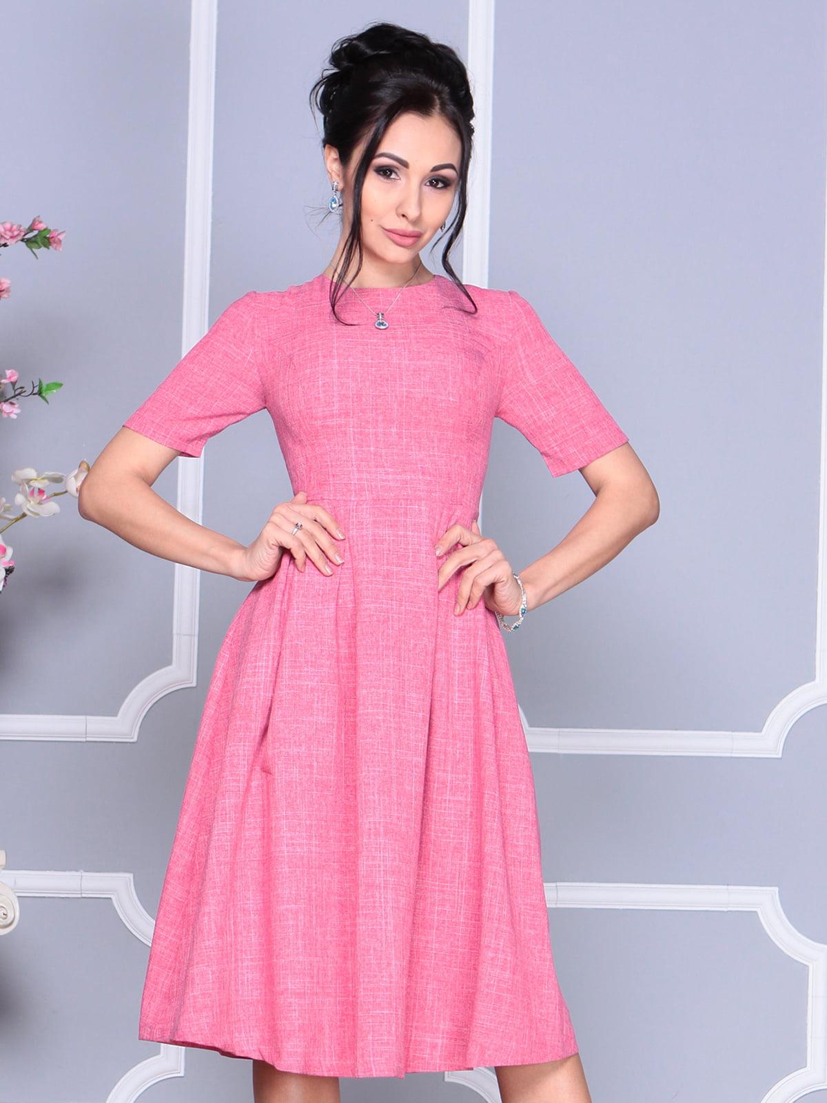 Платье розовое | 4119058 | фото 3