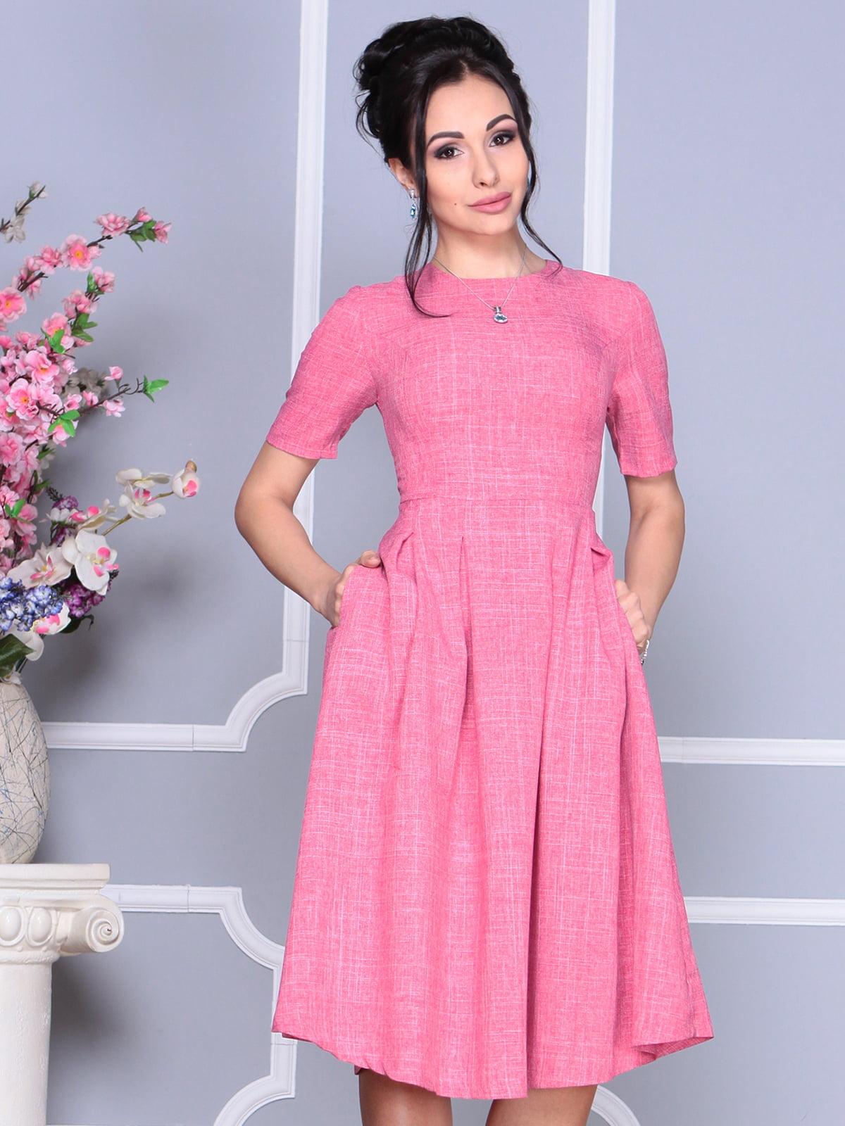 Платье розовое | 4119058 | фото 4