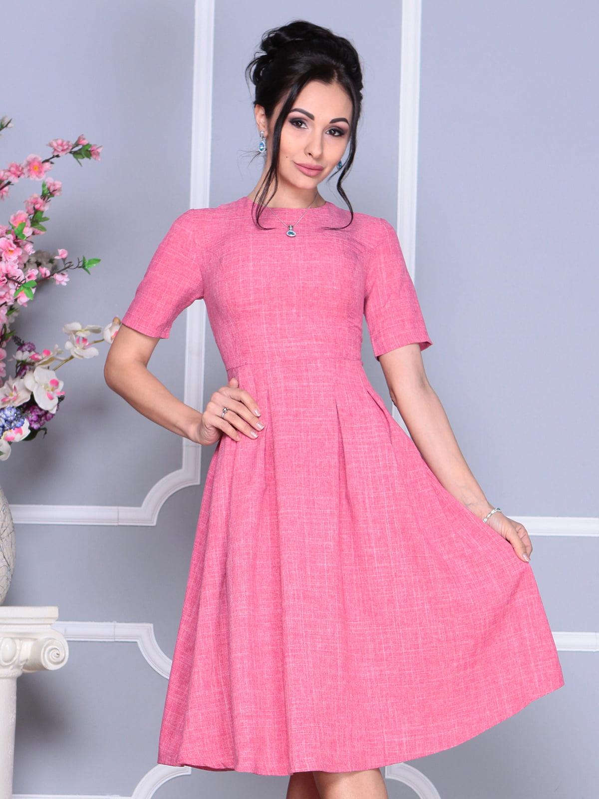 Платье розовое | 4119058 | фото 5