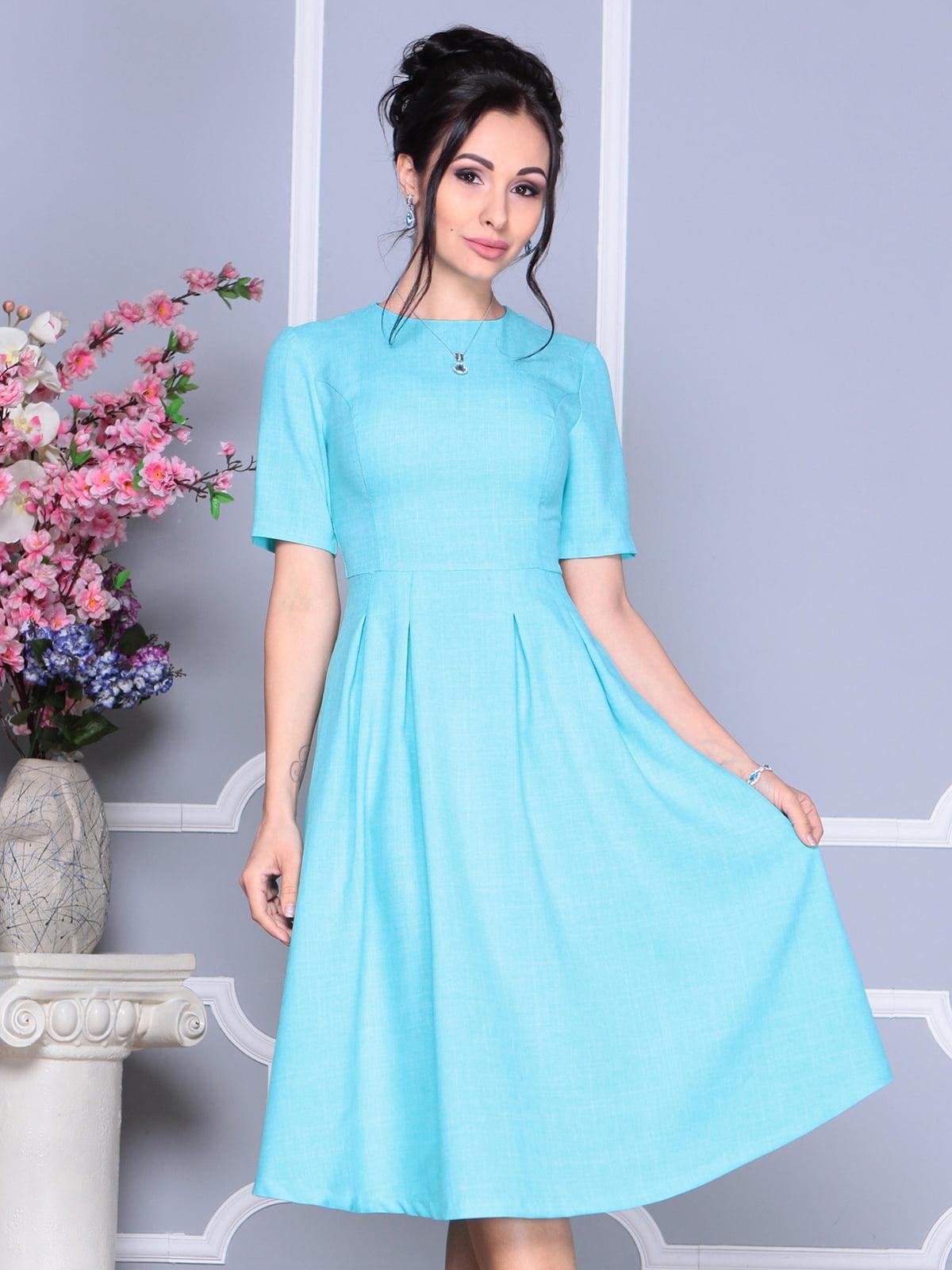 Платье светло-бирюзовое | 4119060