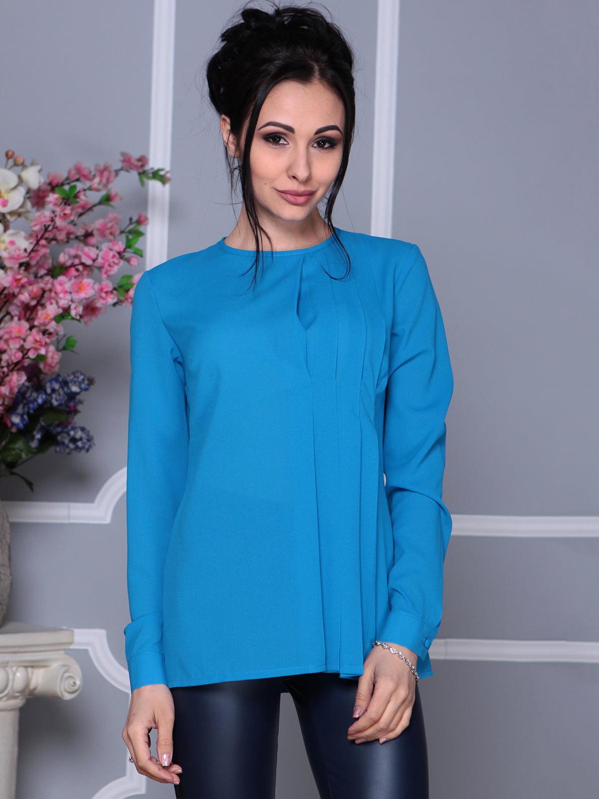 Блуза бірюзова | 4119081