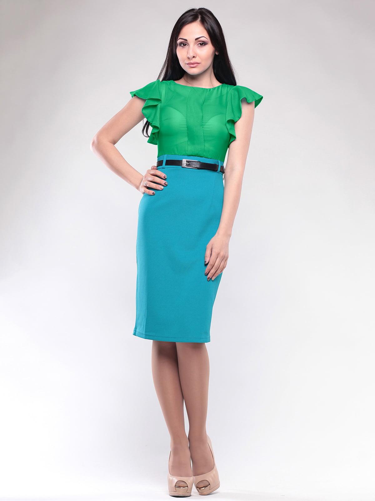 Платье зелена | 4119082