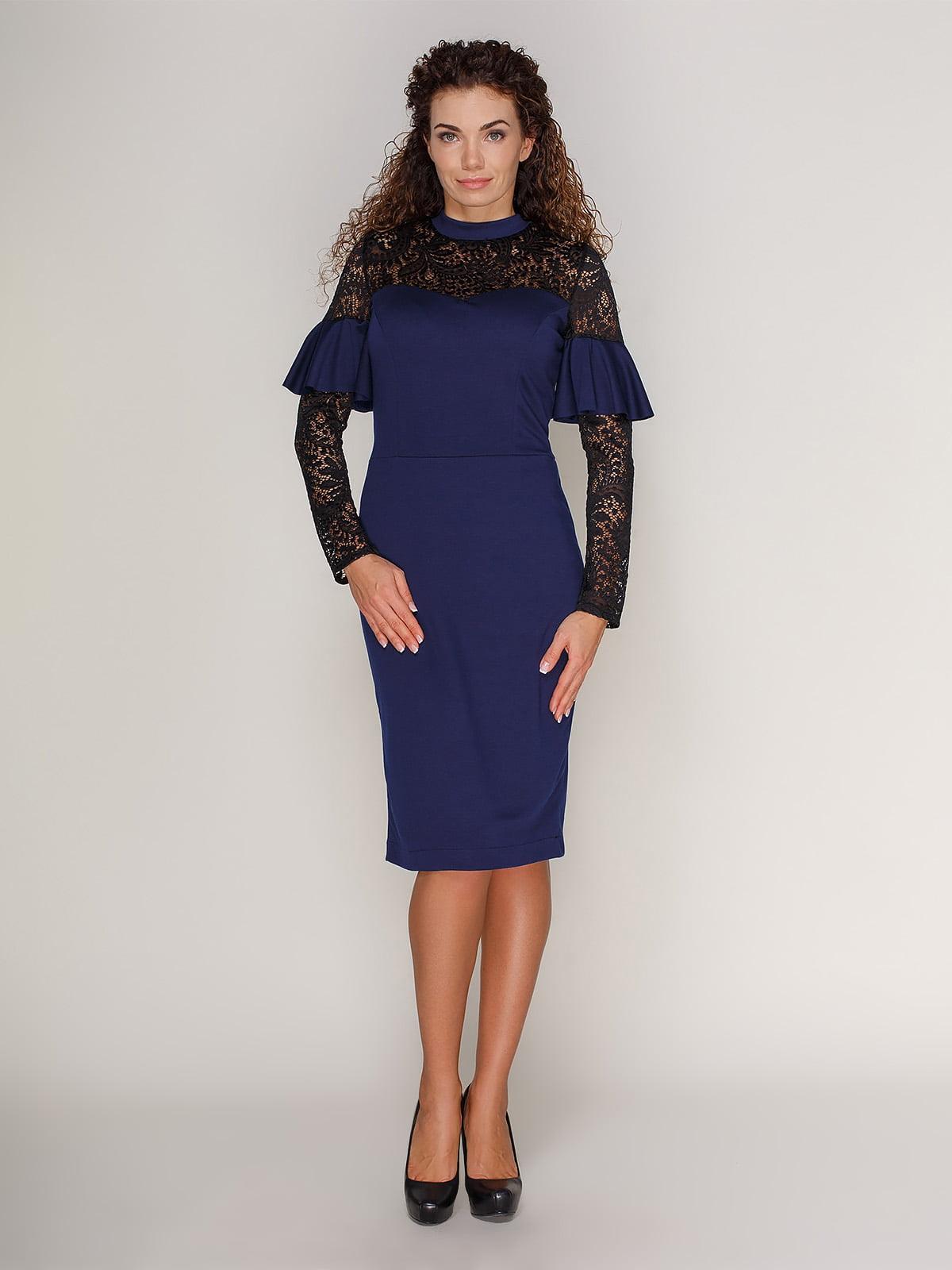Сукня темно-синя   3821196