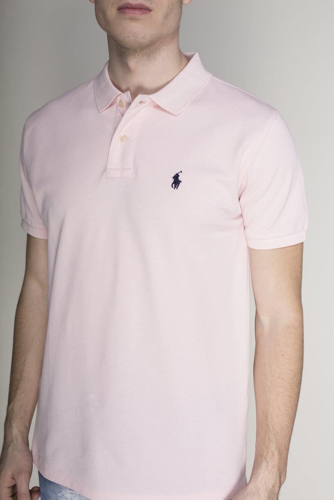 Футболка-поло рожева | 4113124 | фото 3