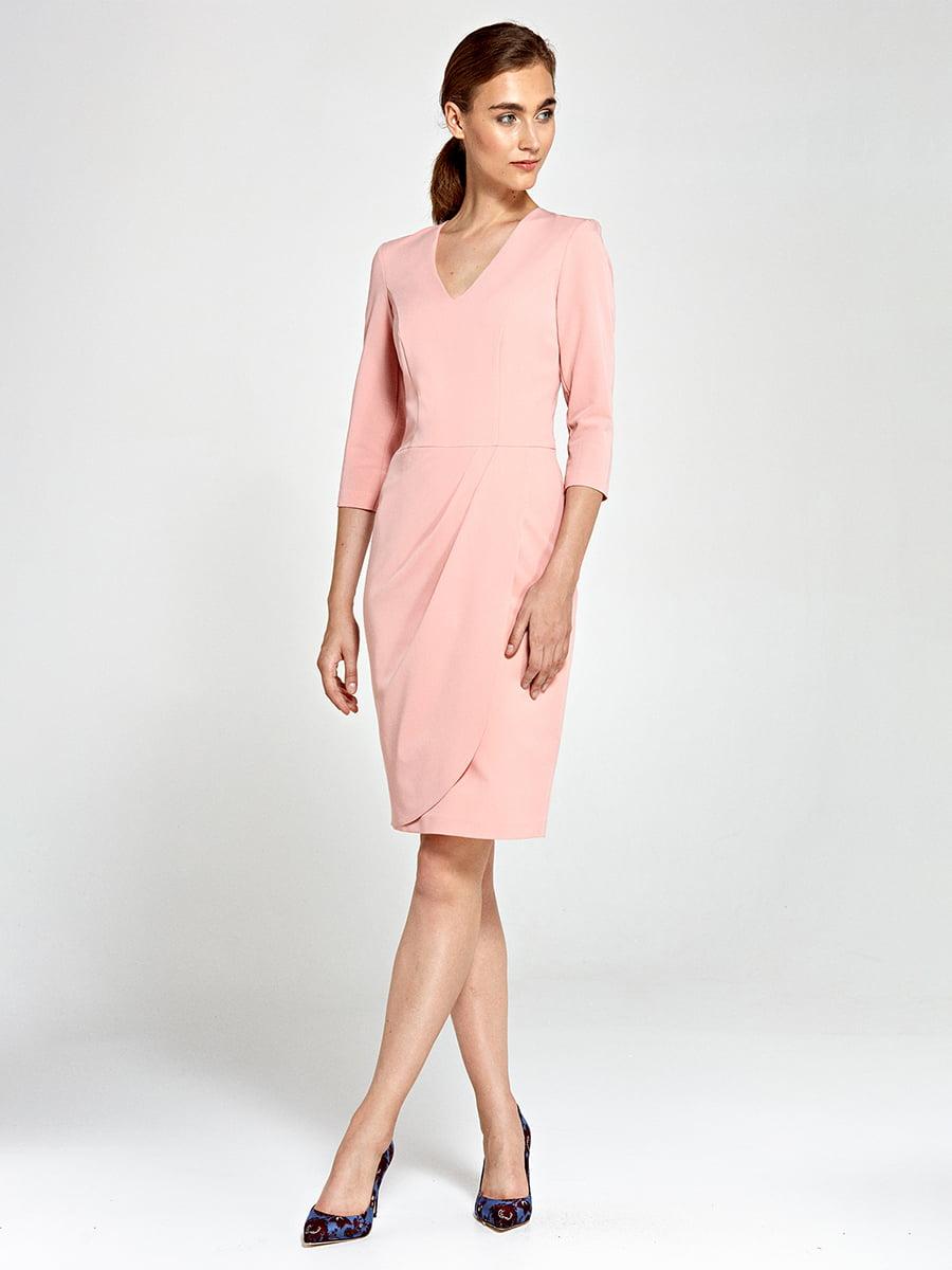 Платье розовое | 4127892