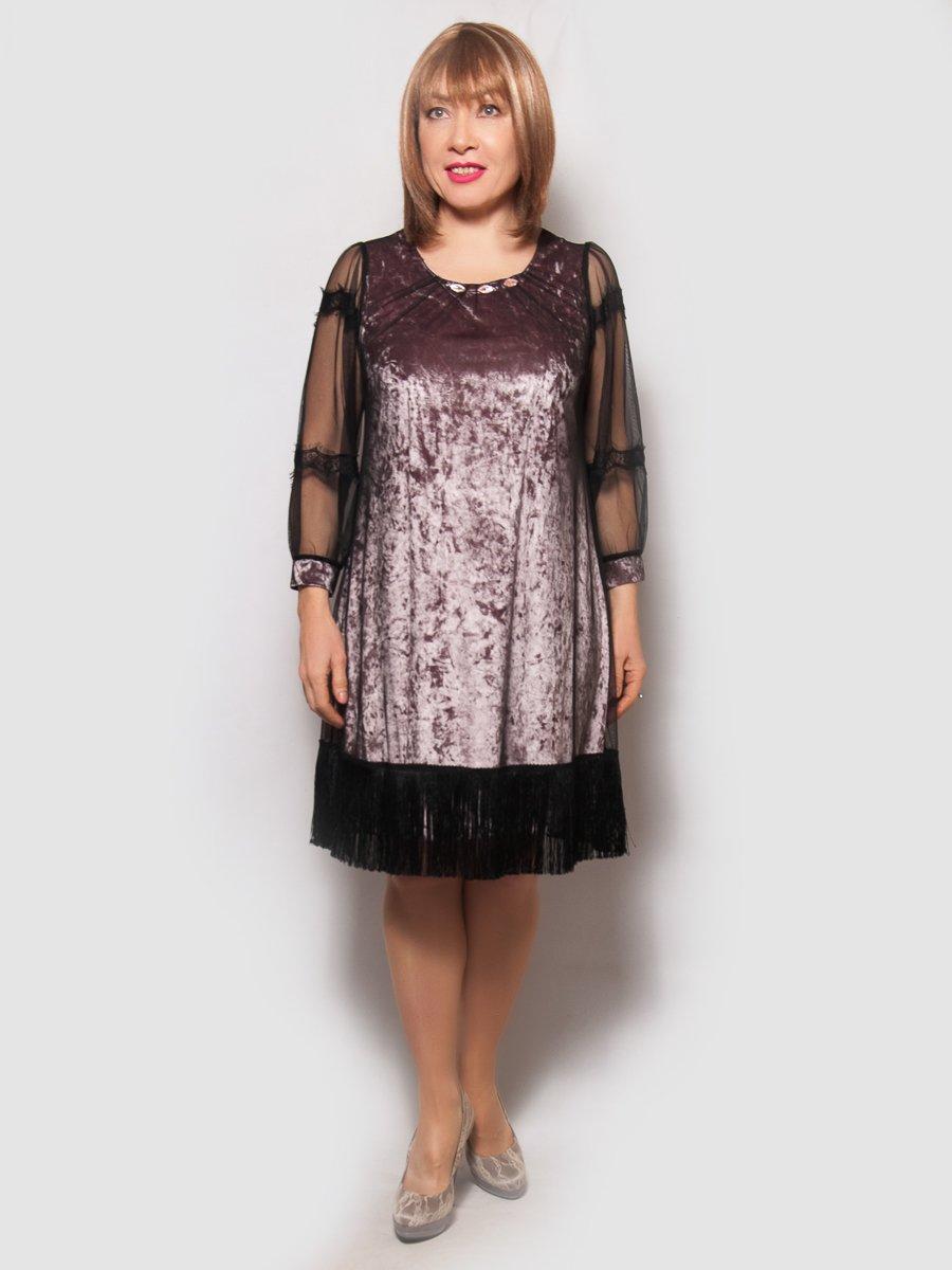 Платье цвета пудры | 4132148
