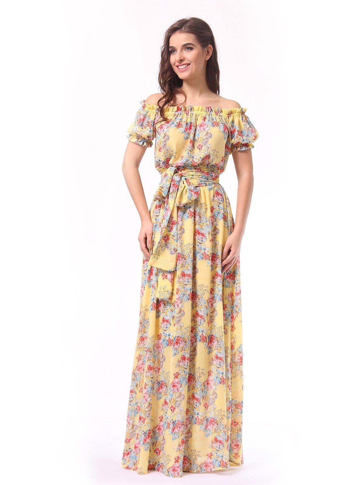 Сукня в квітковий принт | 4133305