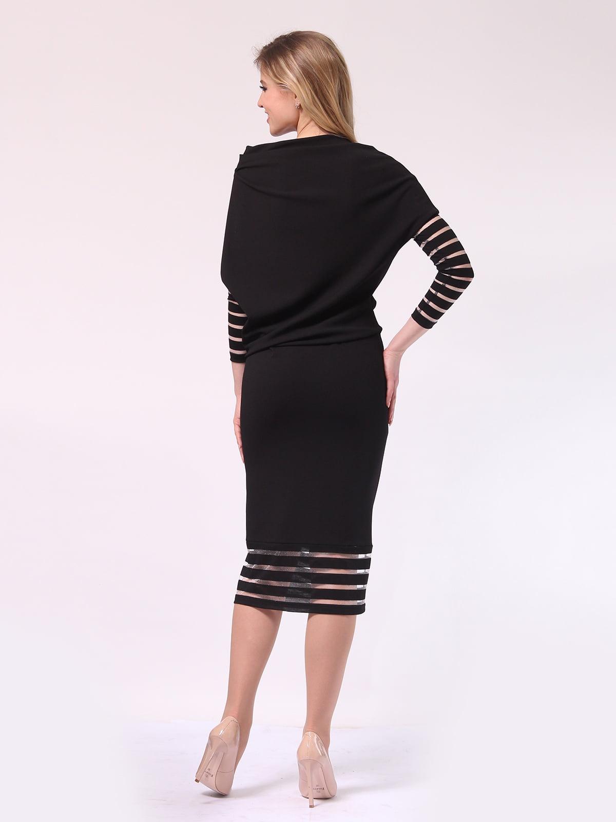 Платье черное | 4133366 | фото 3