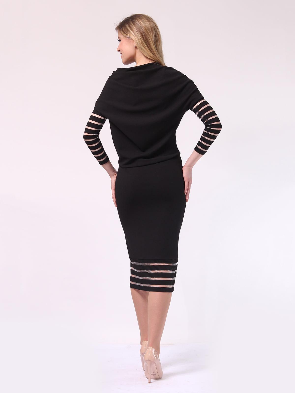 Платье черное | 4133366 | фото 4
