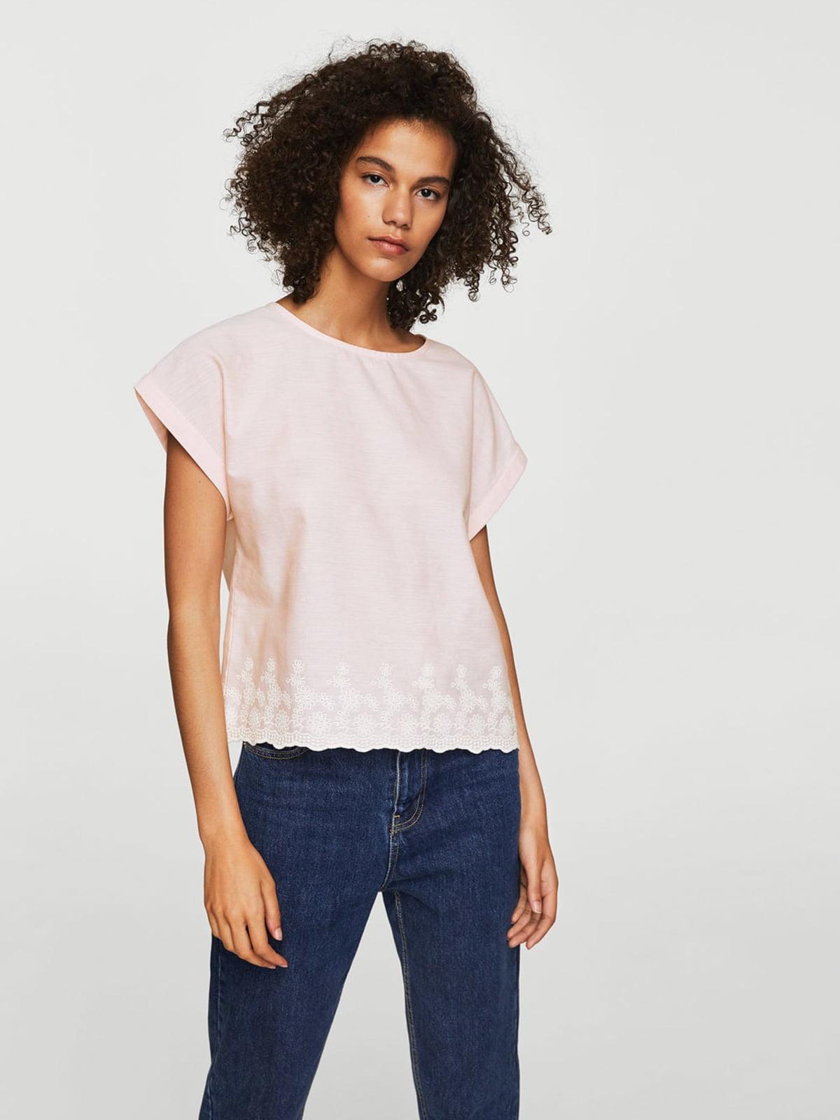 Блуза світло-рожева | 4113489
