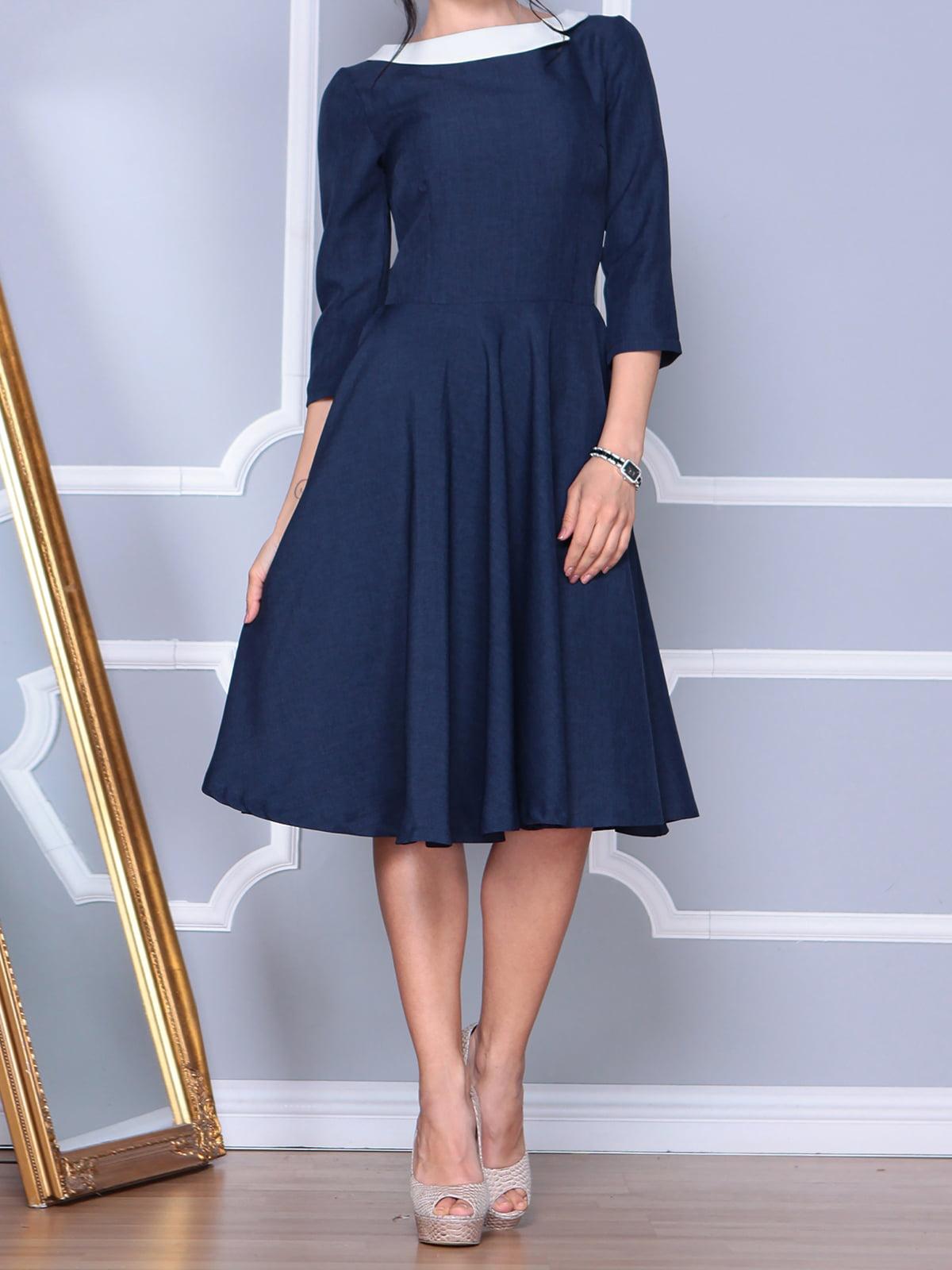 Сукня темно-синя   4134712