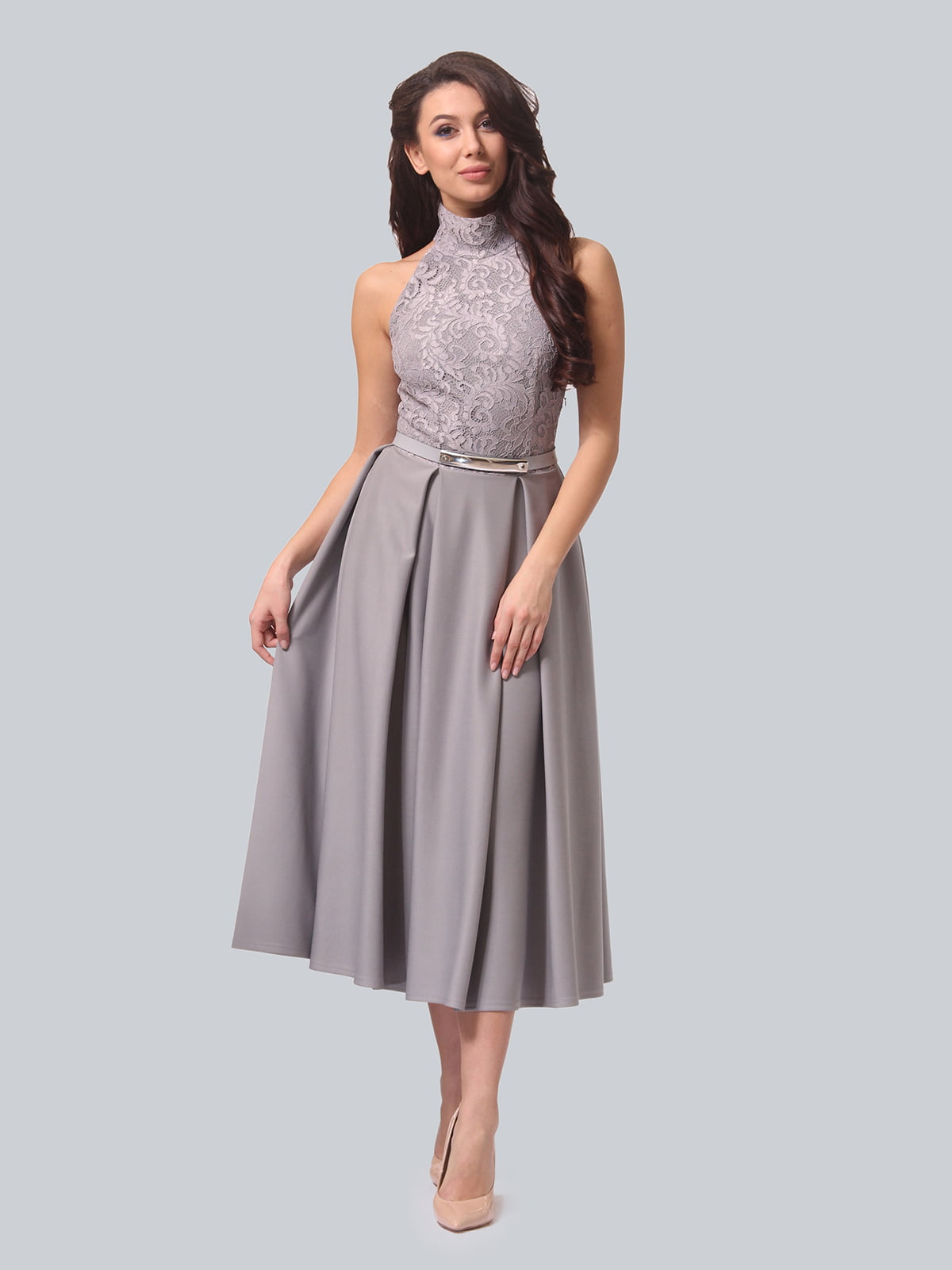 Сукня сіра | 4133253