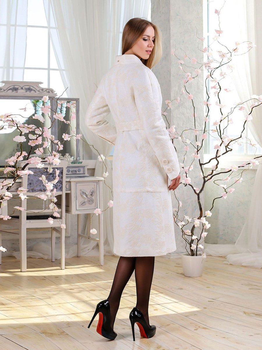 Пальто белое | 4135177 | фото 2