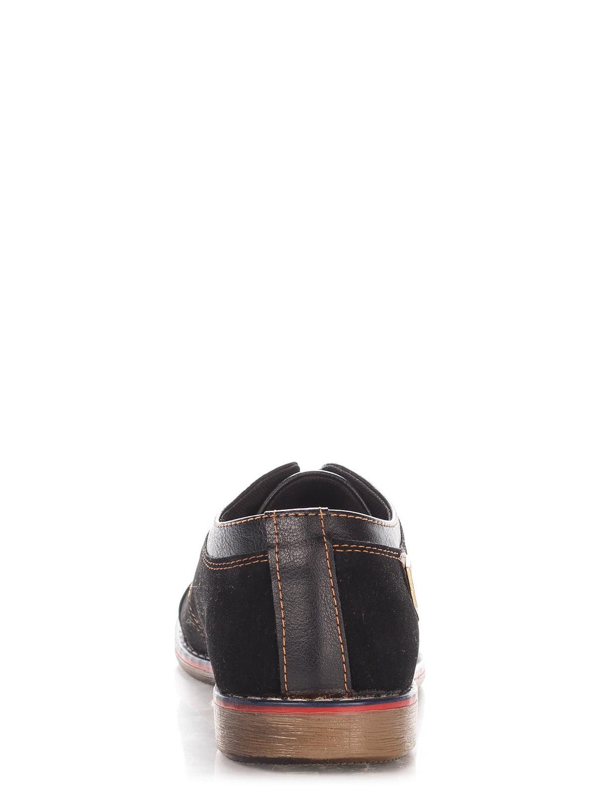 Туфли темно-коричневые   3507081   фото 4