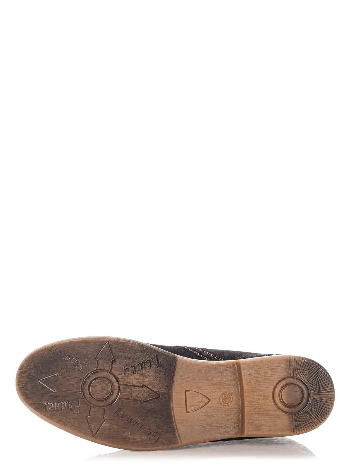 Туфли темно-коричневые   3507081   фото 5