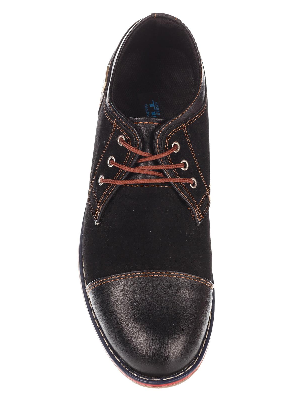 Туфли темно-коричневые   3507081   фото 6