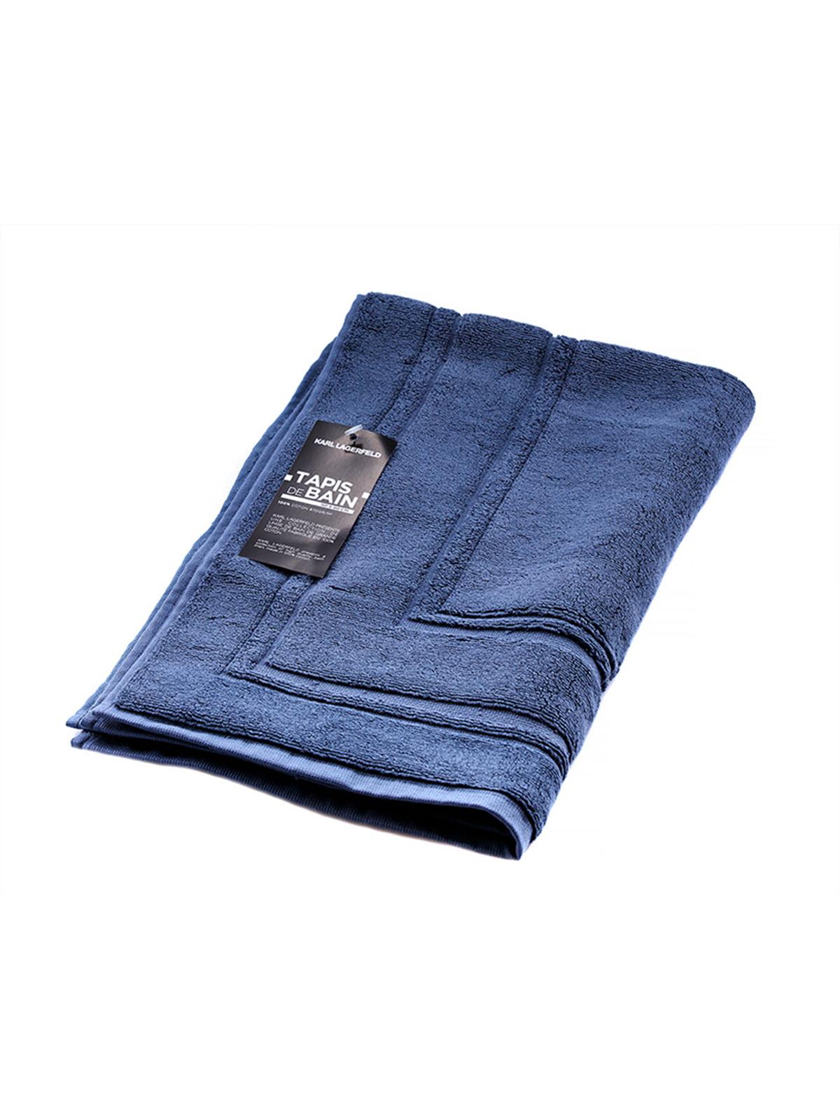 Полотенце-коврик для ног синее (50х80 см)   4136830