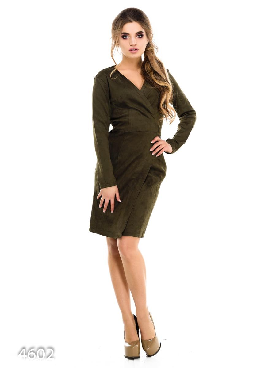 Сукня кольору хакі | 3977266