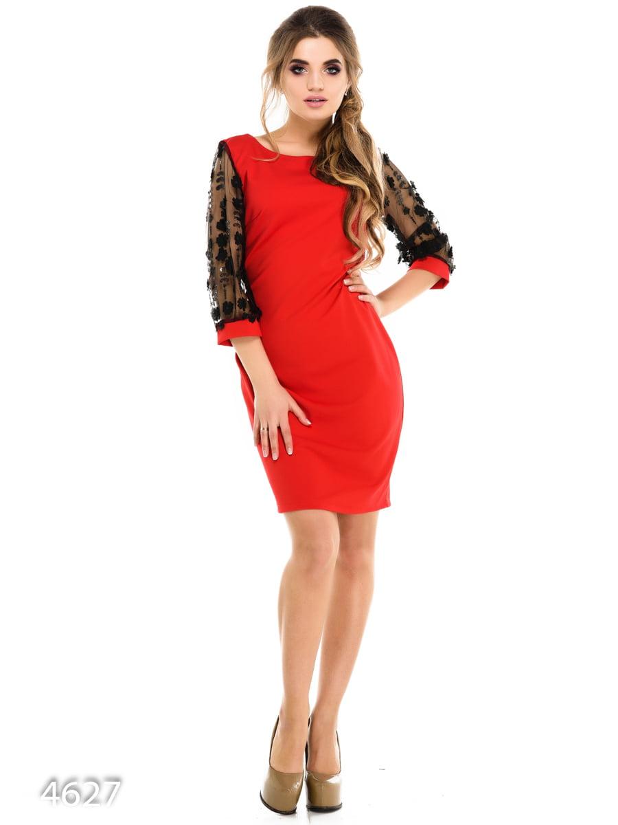 Платье красное | 3977298
