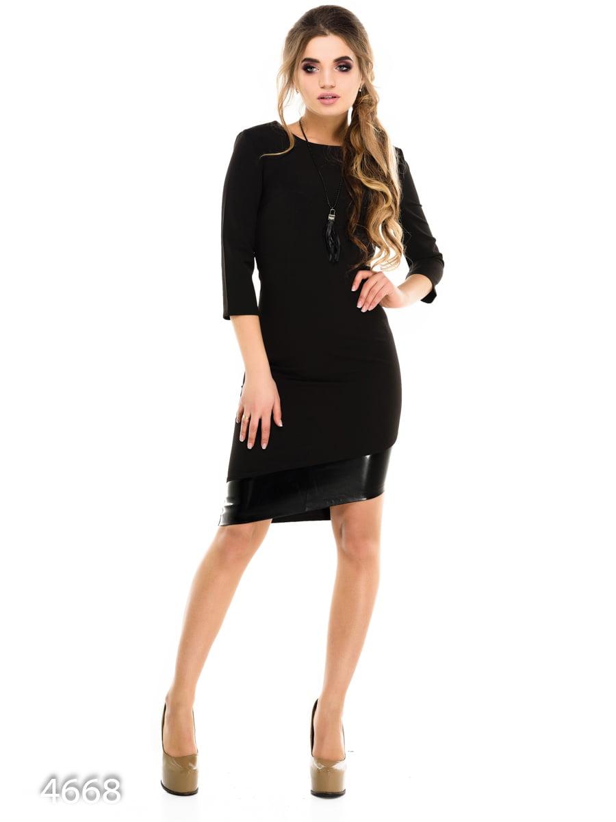 Платье черное | 3977381