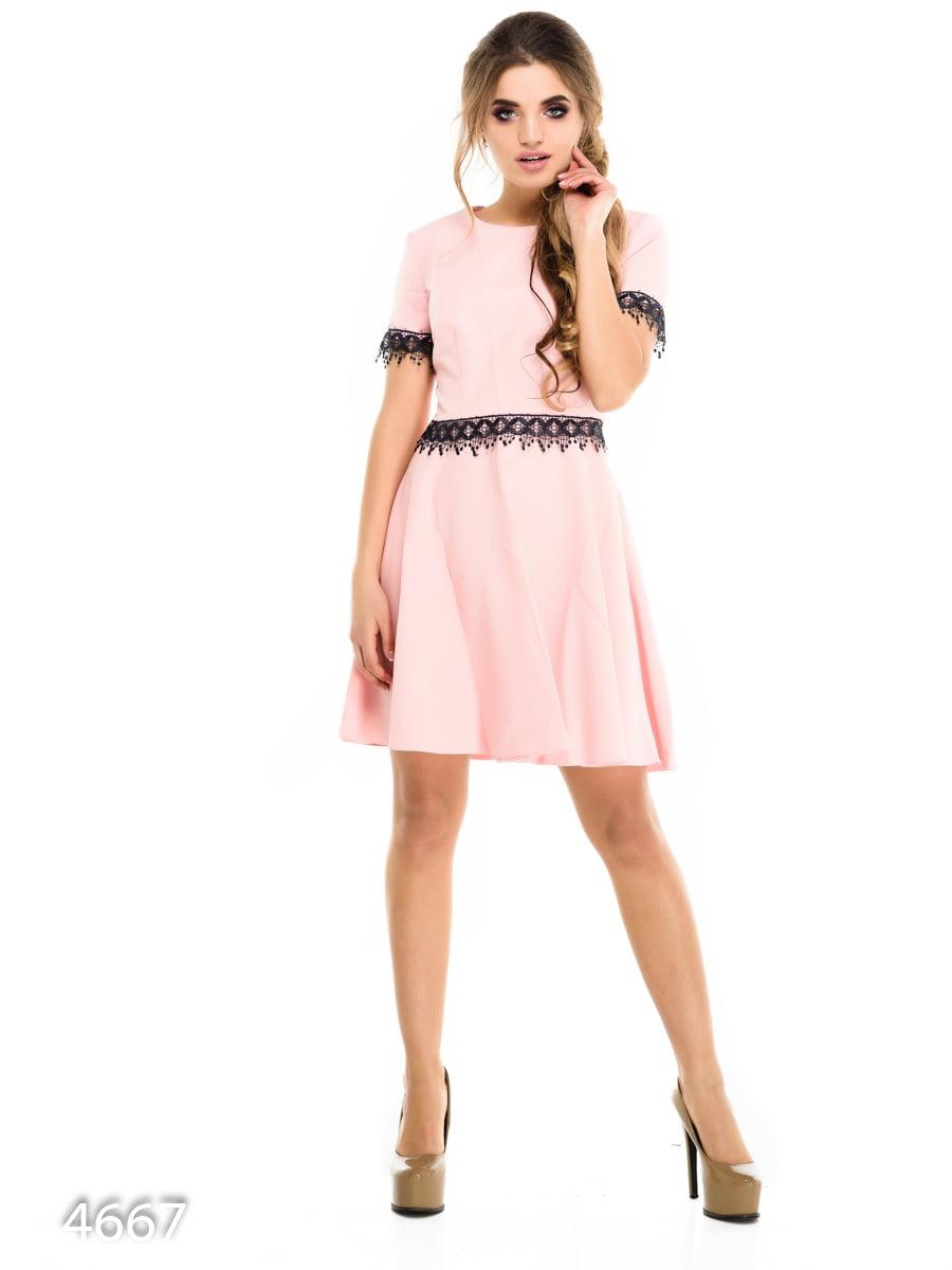 Платье розовое | 3977383