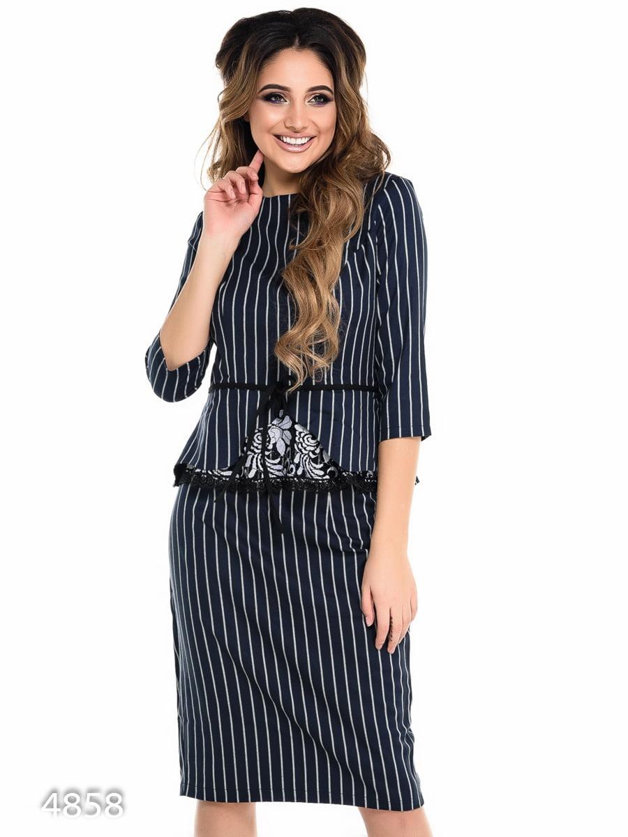Костюм: блуза і спідниця | 4080323