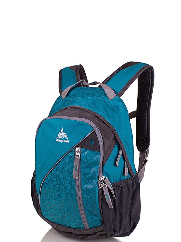 Рюкзак бірюзовий | 4135063