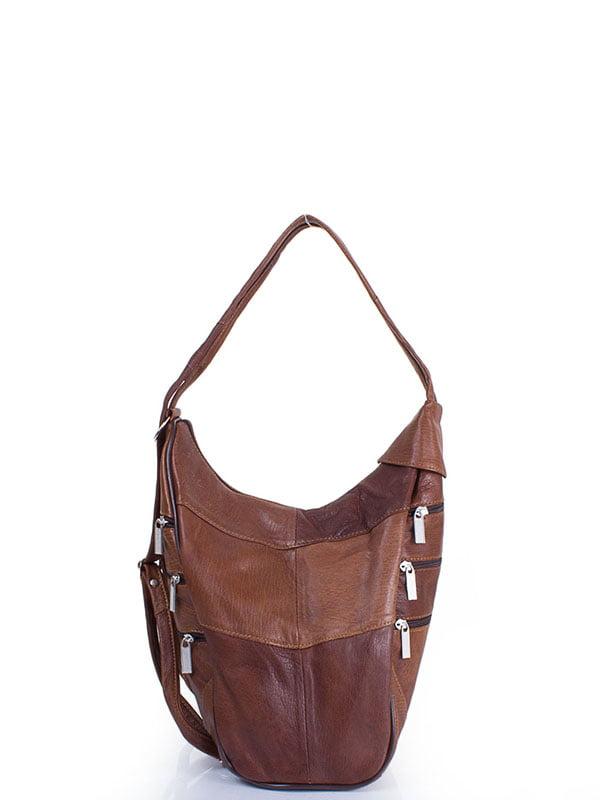 Рюкзак коричневый | 4136726 | фото 5