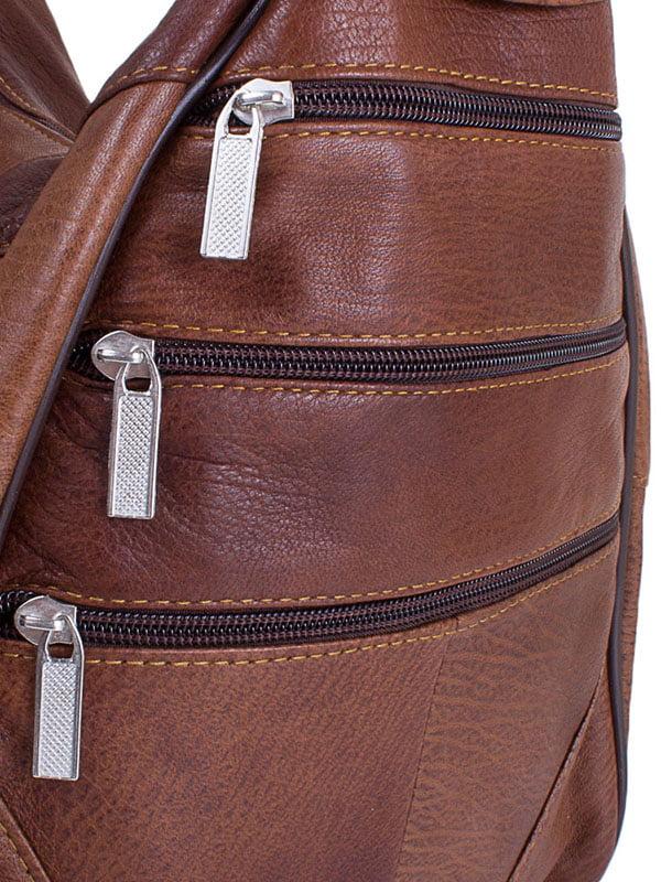 Рюкзак коричневый | 4136726 | фото 6