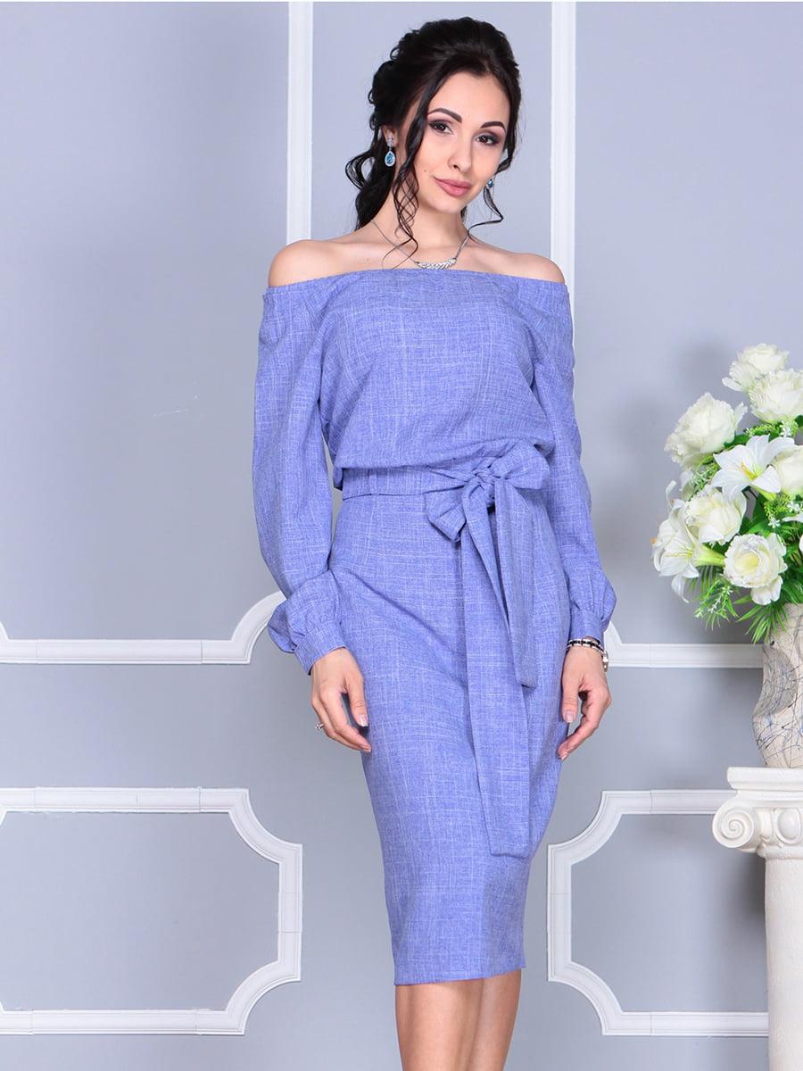 Платье фиолетовое | 4137099 | фото 2