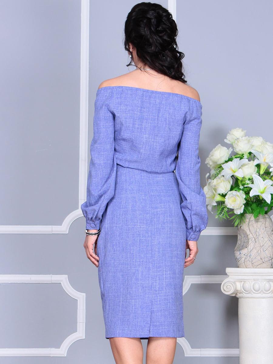 Платье фиолетовое | 4137099 | фото 3