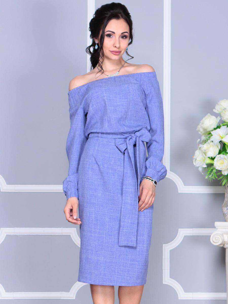 Платье фиолетовое | 4137099 | фото 4