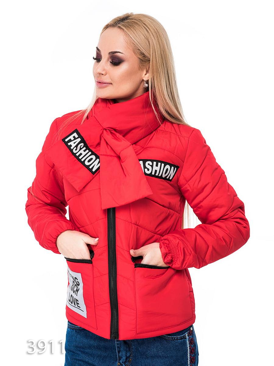 Куртка червона | 3688269