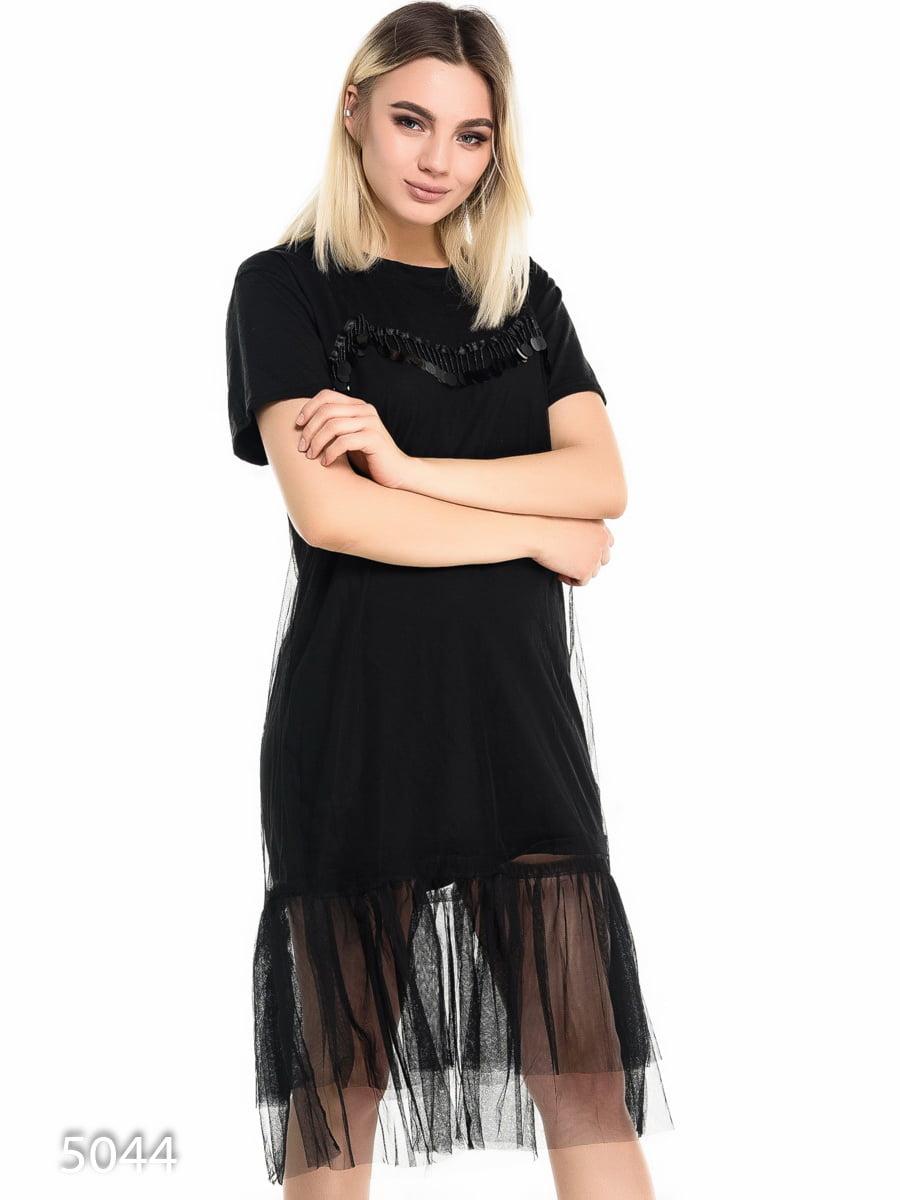 Платье черное | 4137914