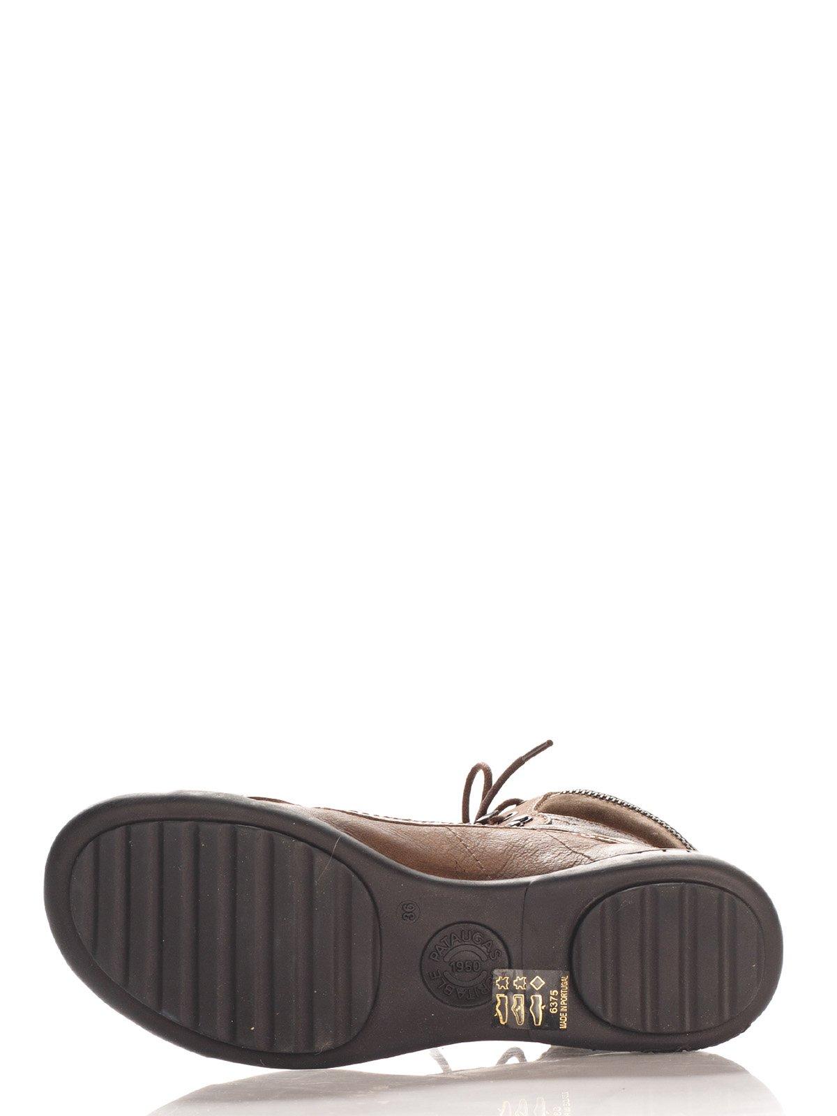 Ботинки коричневые | 4123813 | фото 4