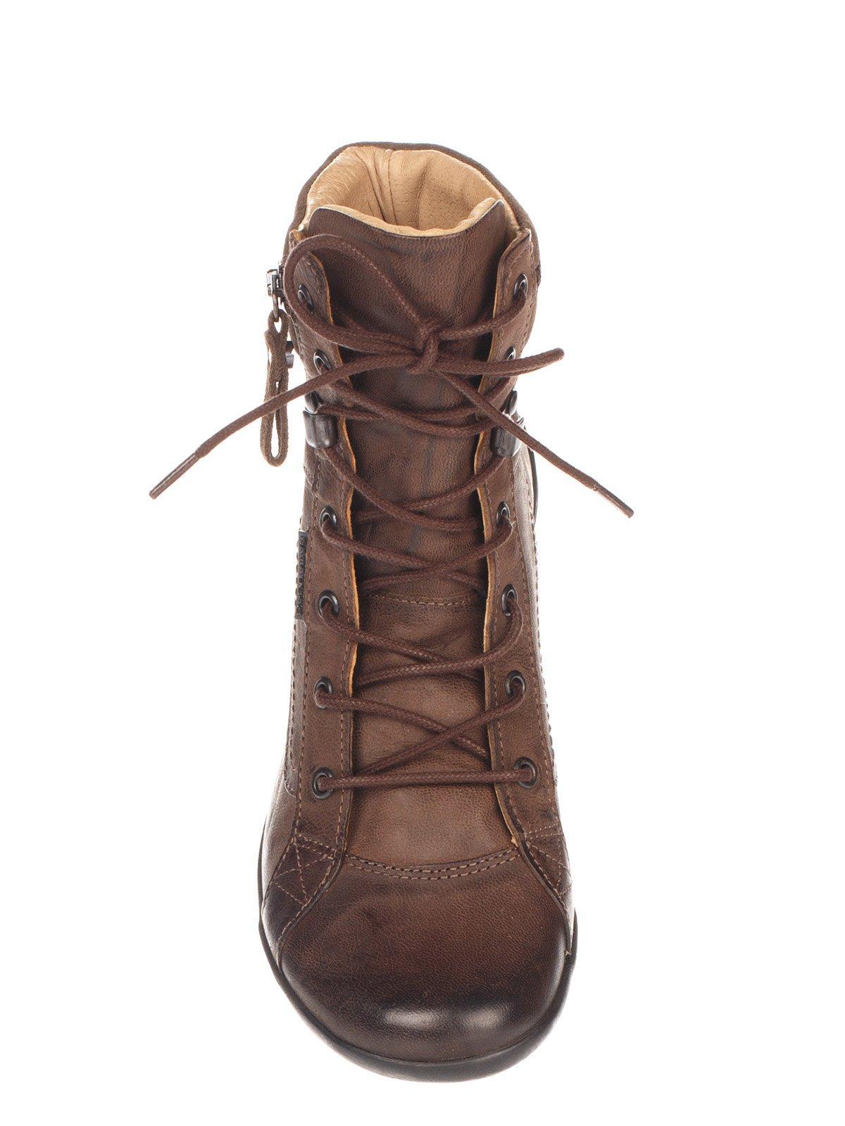Ботинки коричневые | 4123813 | фото 5