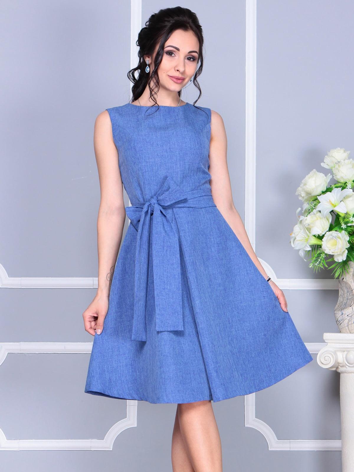 Платье синее | 4137090