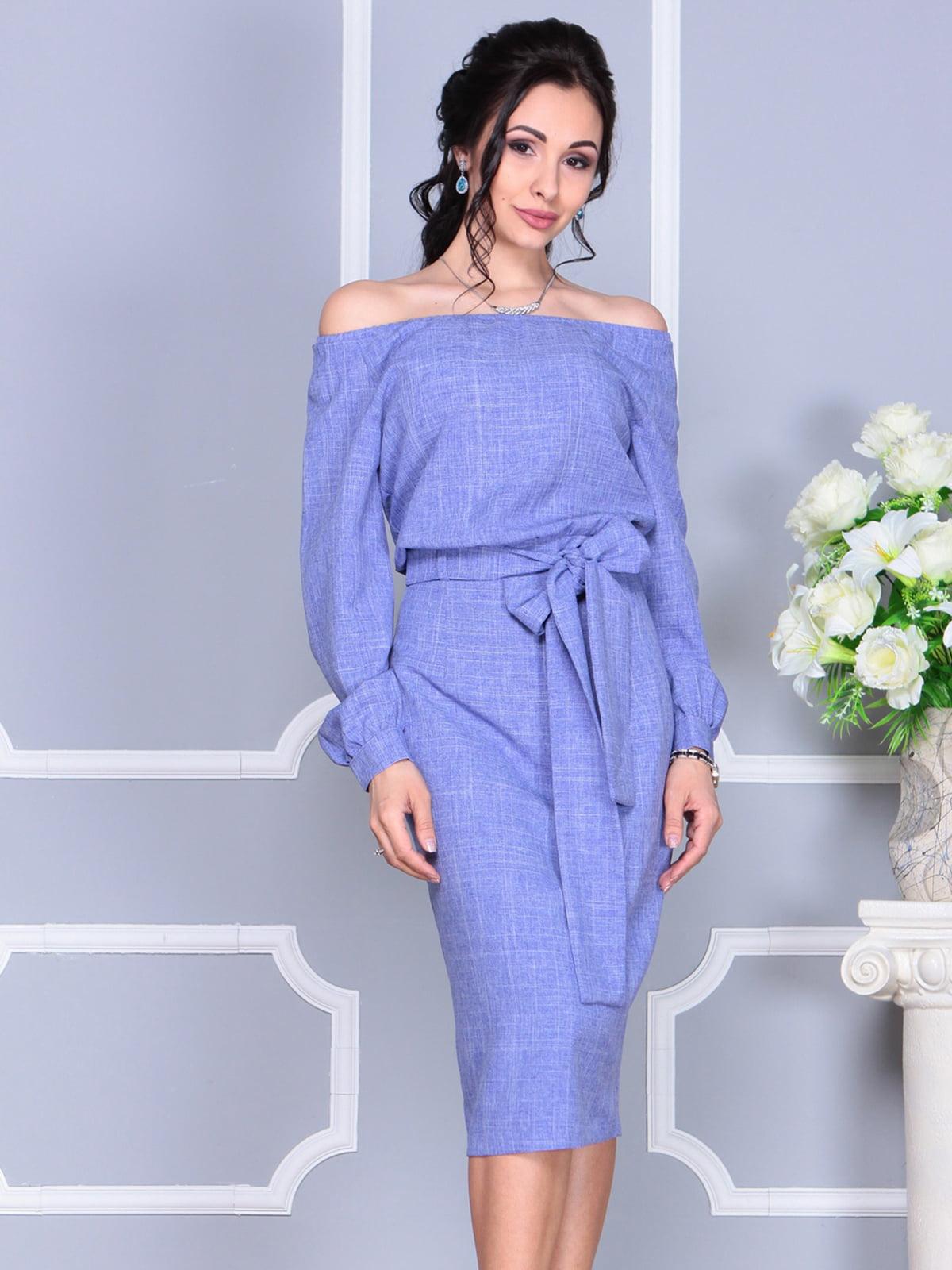 Платье фиолетовое | 4137099