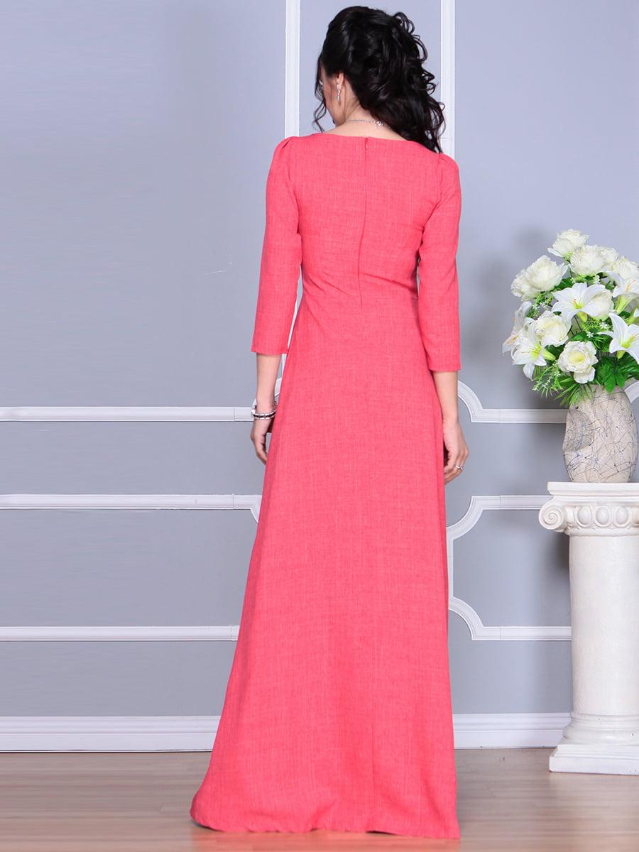 Платье цвета красный коралл | 4137096 | фото 6